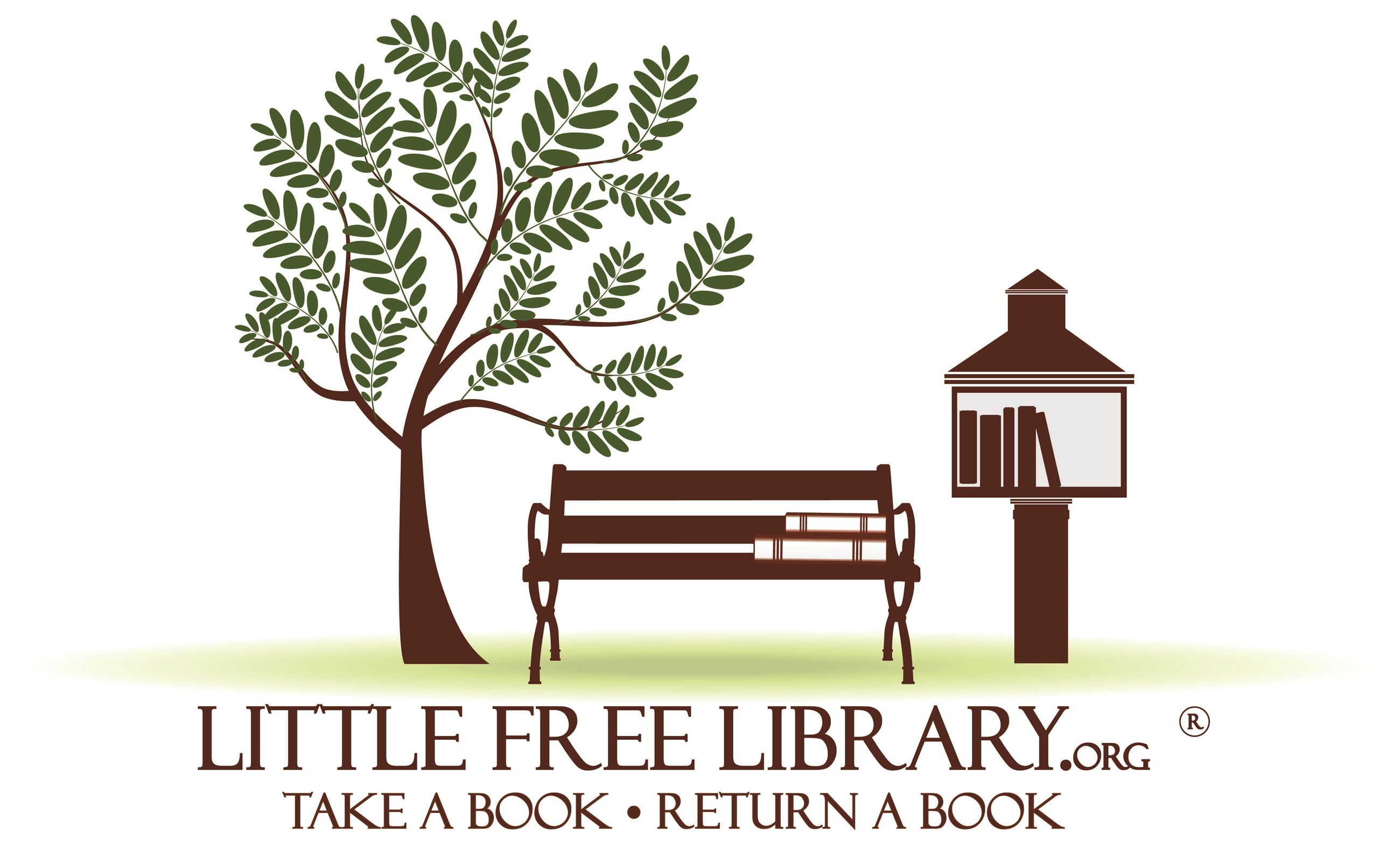 little free library logo Opens in new window
