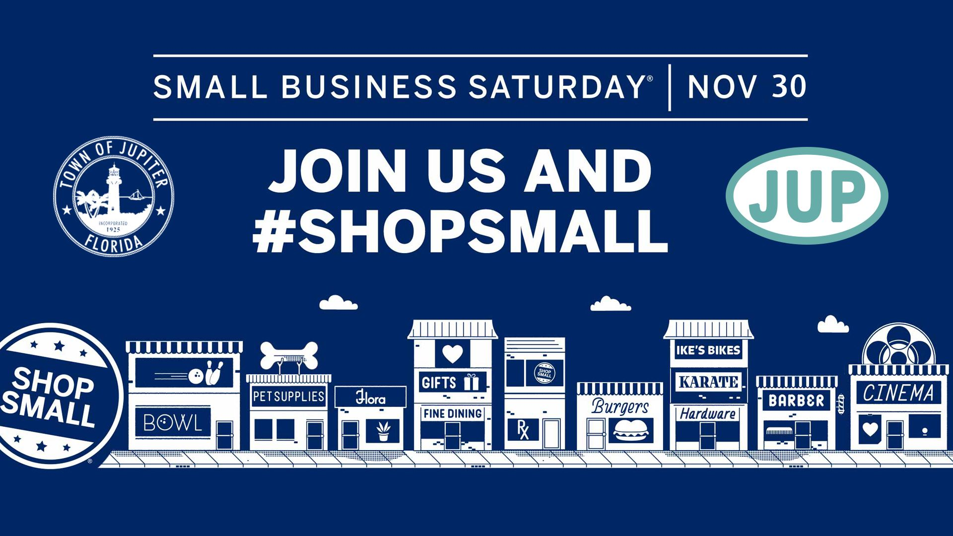 2019 Shop Small Saturday Logo Opens in new window