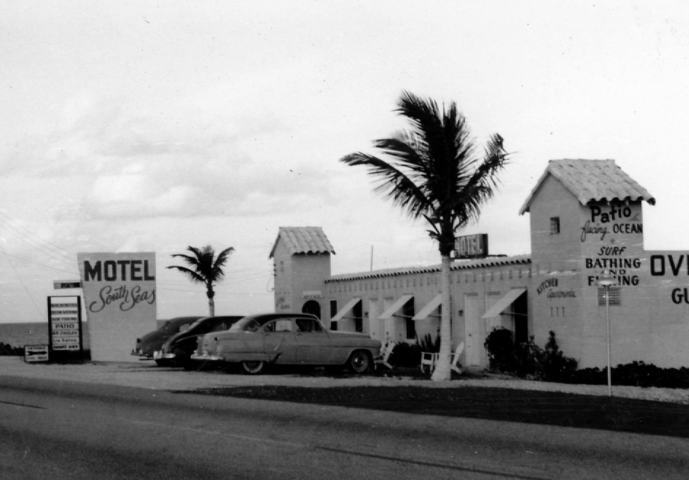 The South Seas Molel about 1957 in Jupiter